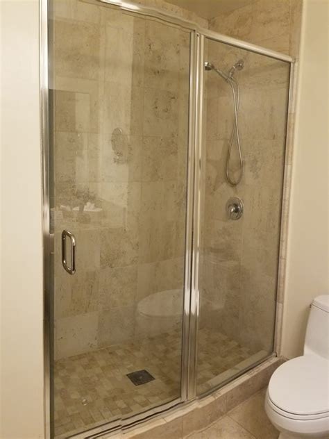 Replacing Shower Door Glass Shower Door Replacement Patriot Glass And Mirror San Diego Ca