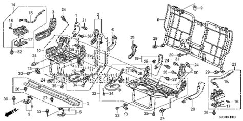 ridgeline 2006 rear seat wiring diagram 39 wiring diagram images wiring diagrams edmiracle co honda store 2006 ridgeline rear seat components parts