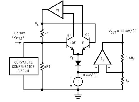how to read integrated circuit diagrams require explanation for temperature sensor lm35 circuit