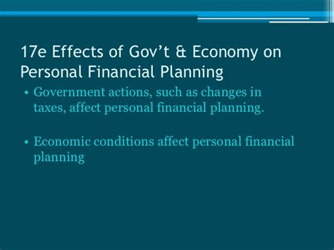 Mba In Personal Financial Planning by 17 Personal Financial Planning
