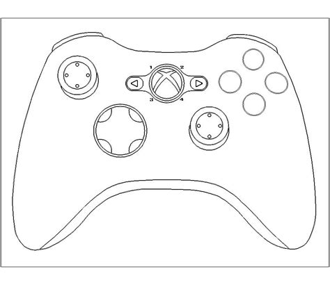 xbox 360 printable coloring pages xbox controller cake template google search cakes