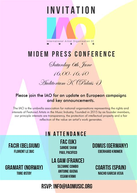Press Conference Invitation Letter In Press Conference Invitation Letter To Media Invitation Letter To Media For Coverage Of An Event