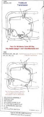 th200 4r tcc solenoid transmission problem