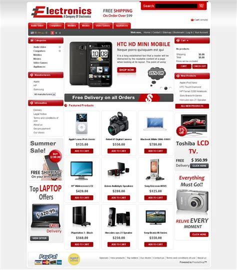 prestashop templates prs020027 premium prestashop electronics store theme