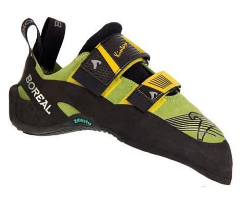 boreal rock climbing shoes boreal kintaro rock climbing shoe uk 6 green yellow