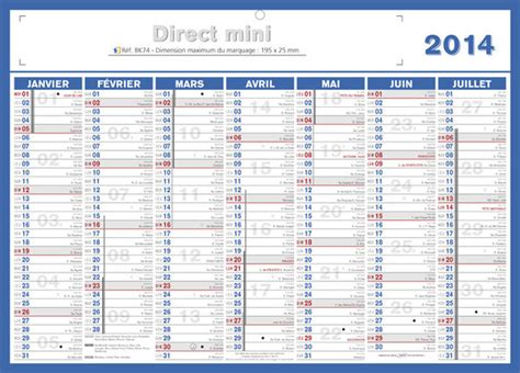 Calendrier 2013 Et 2014 Ancienne Collection 2014 Format 20 X 30