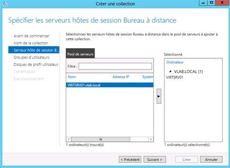 bureau à distance windows server 2012 windows server 2012 remote desktop service