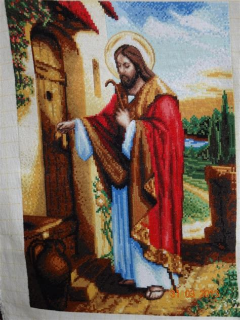 Free Picture Of Jesus Knocking At The Door by Gobelin Jesus Knocking On The Door