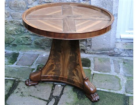 Claw Foot Pedestal Table Pedestal Table Flamed Mahogany Claw Foot Marble Cuba
