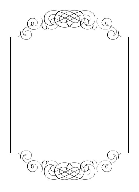 card border template border designs for invitation cards yourweek 07c137eca25e