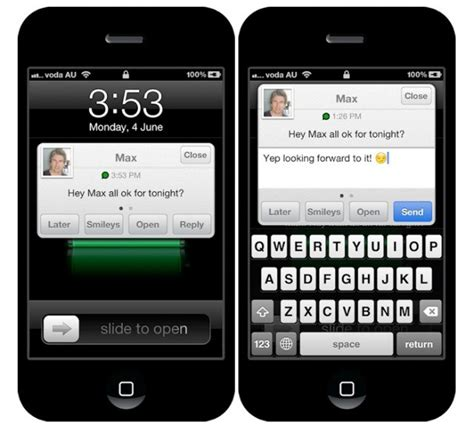 tutorial whatsapp iphone 4 whatsapp for iphone gets quick reply tweak courtesy of