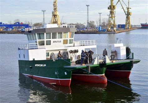 trimaran workboat newbuildings poland at sea page 3