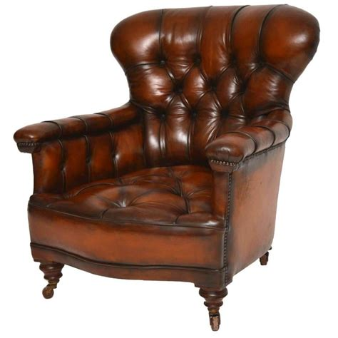 antique leather armchairs stunning antique victorian leather armchair at 1stdibs