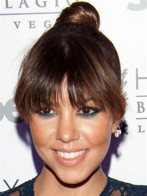 hairstyles bangs face shape 38 best heart face shape images on pinterest heart