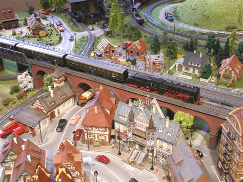 ho layout video wonderfully constructed 21 x 8 marklin ho layout model