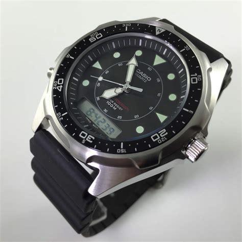casio dive watches casio maine gear diver s amw320r 1ev amw320r 1e ebay