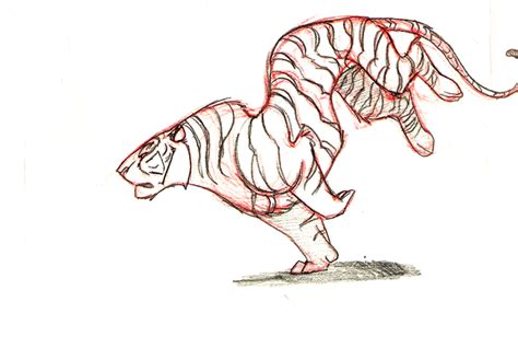 hand drawn tiger run by tigerty on deviantart