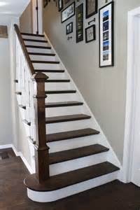 How To Stain Banister For Stairs Stair Makeover Ideas Archives The Honeycomb Home