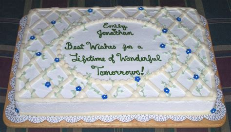 Wedding Shower Banner Sayings by Inspiration Ideas Bridal Shower Cakes With Pics Photos
