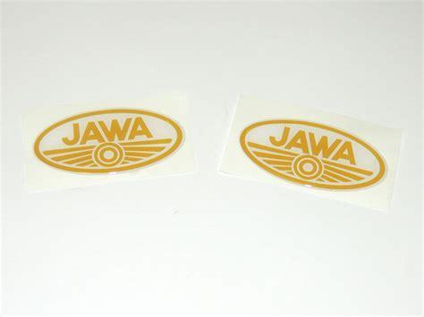 Stiker Original Gold Oval parts jawa 50 type 05 20 23 jawaparts parts for