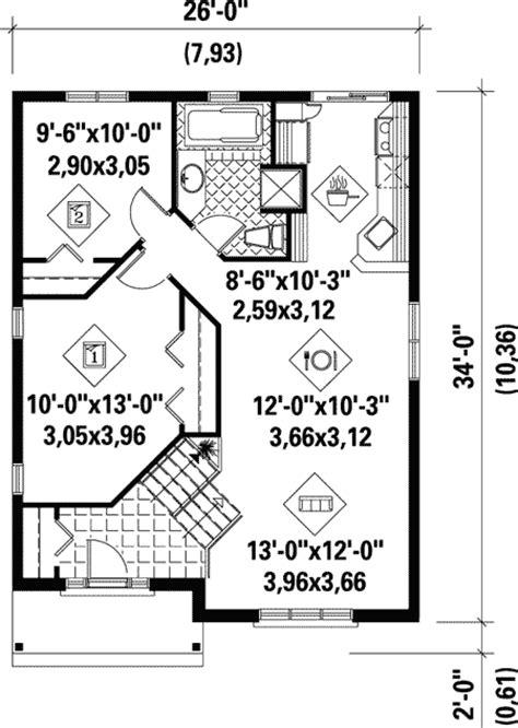 economical floor plans plan w80376pm economical split level home plan e