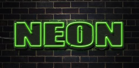 typography tutorial neon quick tip create a neon text effect in photoshop