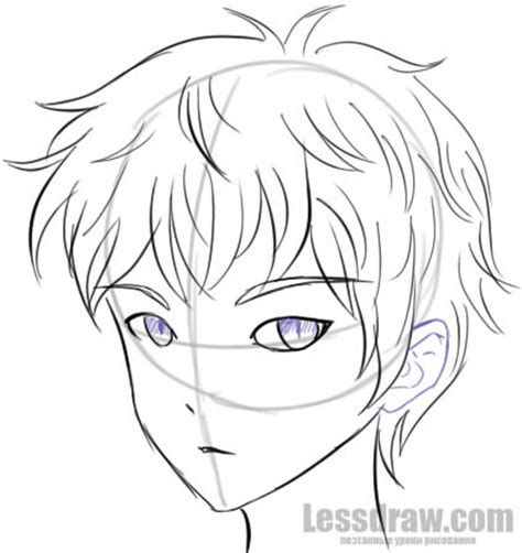 anime boy easy to draw how to draw anime boy step by step for beginners lessdraw