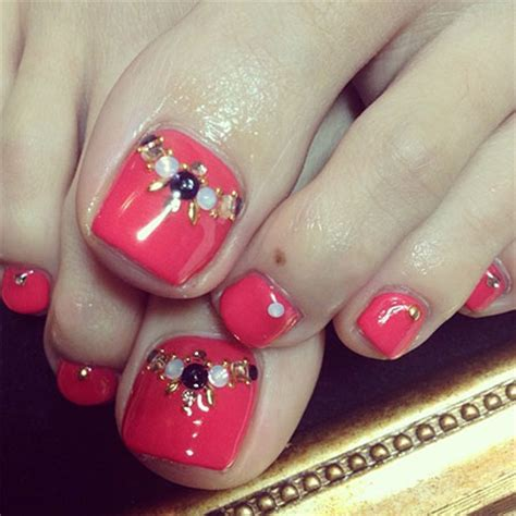 fashion colors for 2014 toenails cool spring toe nail art designs ideas trends 2014