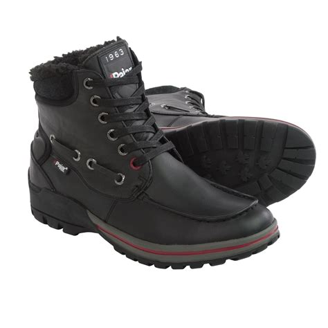 pajar bocce leather snow boots for save 67