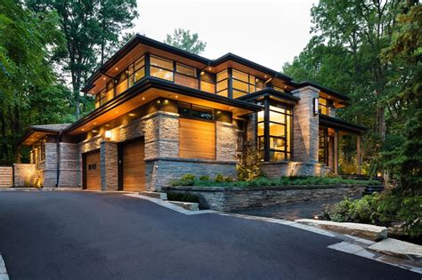 contemporary home exterior modern home aiming at converting traditionalists by david