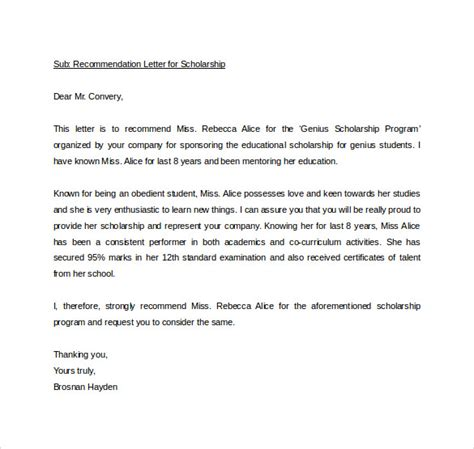 sle personal letter of recommendation 21 download