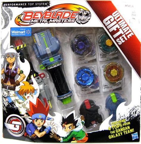 Set Lyra Abu beyblades metal masters exclusive ultimate gift set gangan