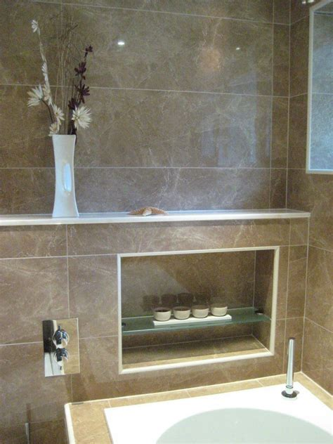 bathroom alcove shelves alcove shelving around bath sylvie pinterest