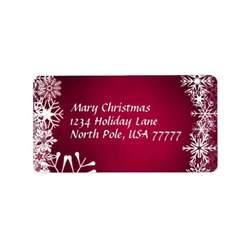 christmas address avery label address label zazzle