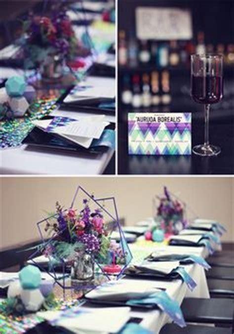 galaxy themed wedding decor details themed