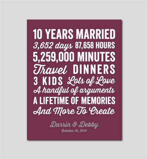 year wedding anniversary quotes 10th year wedding anniversary quotes quotesgram
