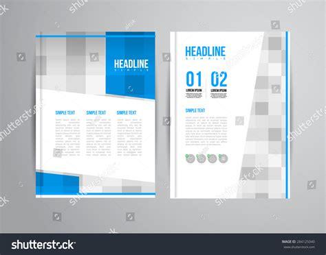 leaflet design trends flyer design template trend illustration business stock