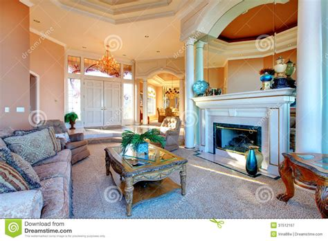 rich living room amazing rich interior with antique furniture royalty free stock photography image 37512167