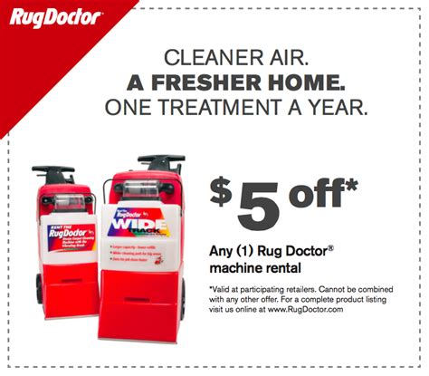 Rug Doctor Printable Coupon by Rug Doctor Coupon Rental Roselawnlutheran