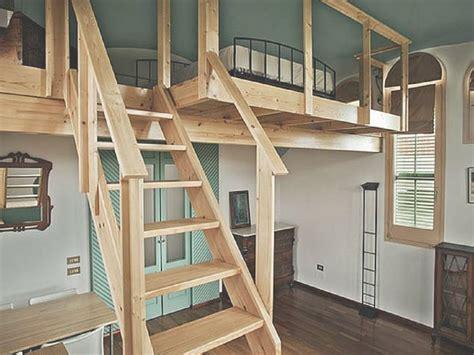 con soppalco in legno soppalco come realizzarlo progettazione casa