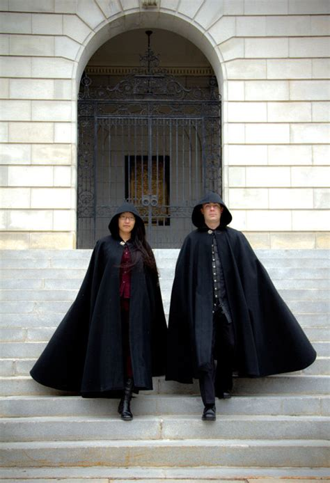 pattern for black cape wool cloak half circle cloak black cloak hooded cloak