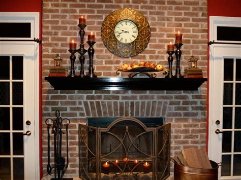 hearth decor mantel decoration for awesome fireplace inspiring