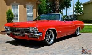 1965 chevy impala true ss 327 convertible numbers matching rally
