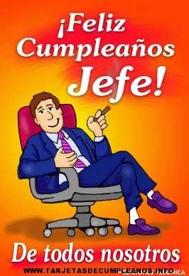 imagenes de feliz cumpleaños jefe tarjetas de cumplea 241 os para el jefe tarjetas de cumplea 241 os