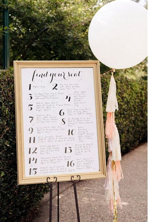 10 special diy wedding guest cards and seating wedding seating charts bravobride