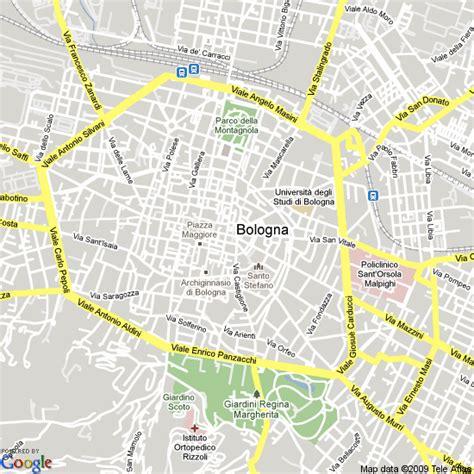 map of italy bologna map bologna