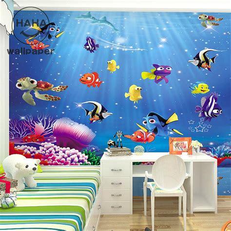 bedroom world free delivery code free shipping 3d cartoon children s room bedroom wallpaper