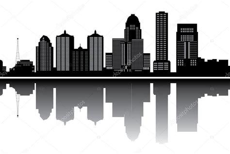 Louisville Ky Skyline Outline by Louisville Skyline Memes