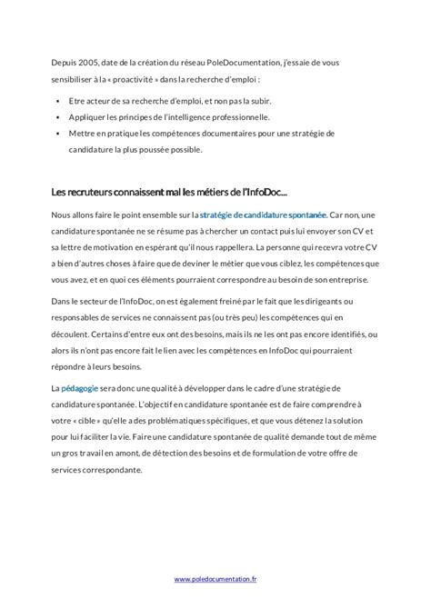 Lettre De Motivation Grande Banque Candidature Spontanee
