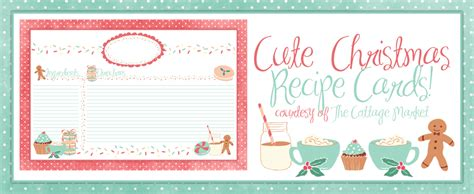 printable christmas recipe tags holiday labels tags free printables and more the